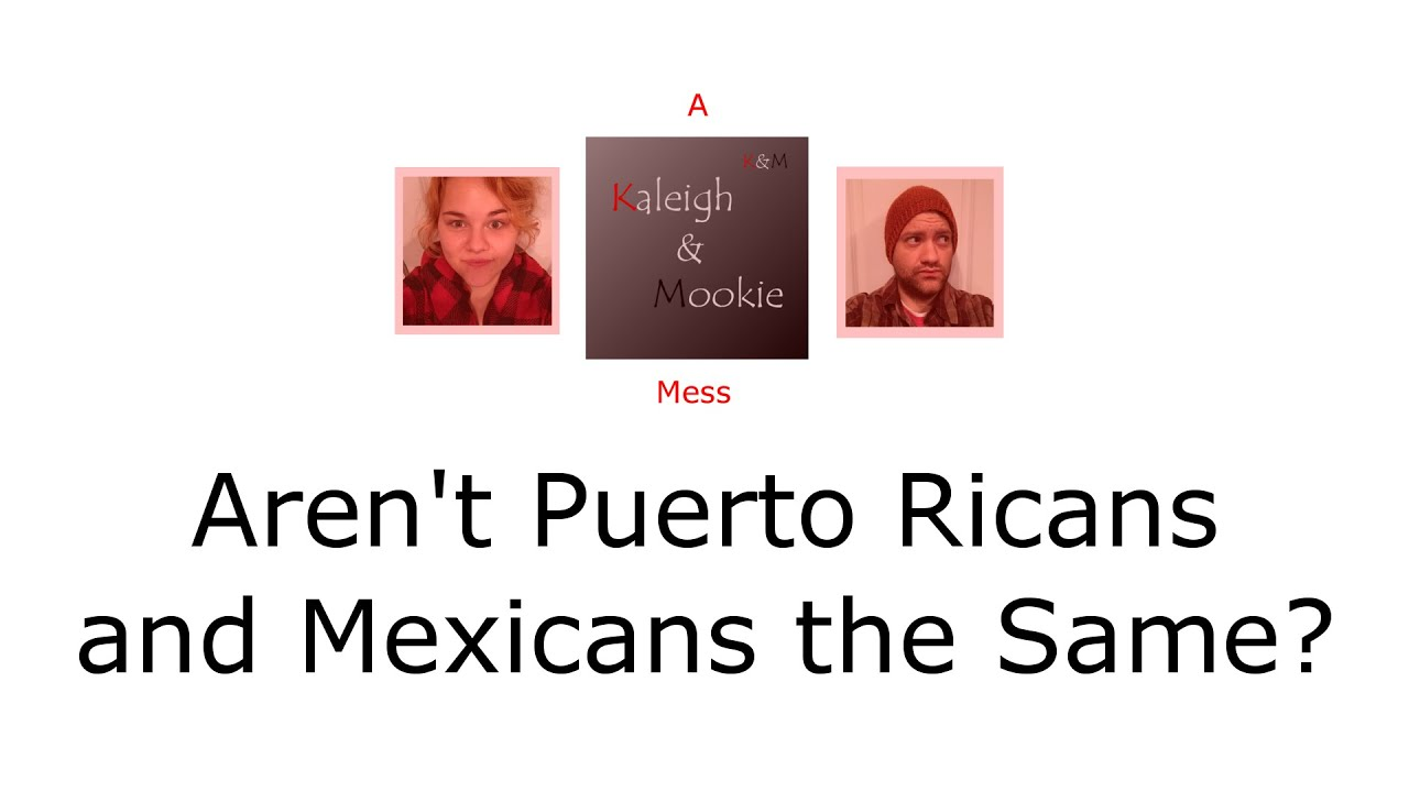 Puerto ricans vs mexicans