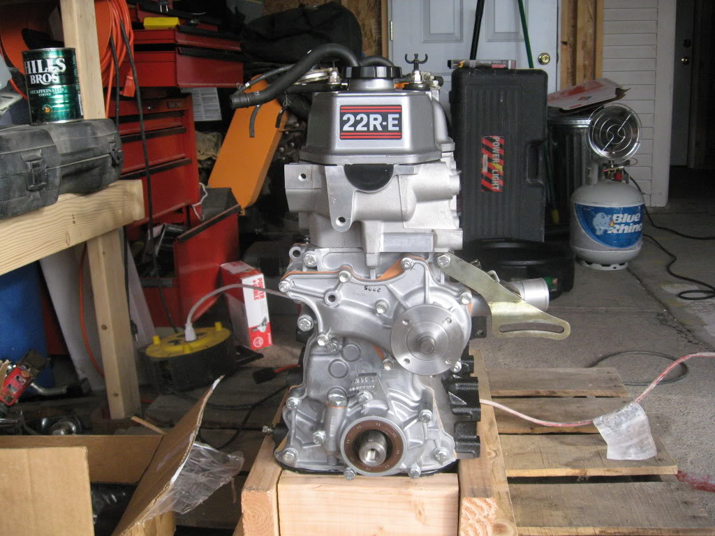 22re crate motor for sale