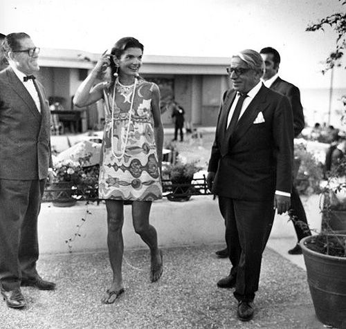 Jackie o second husband