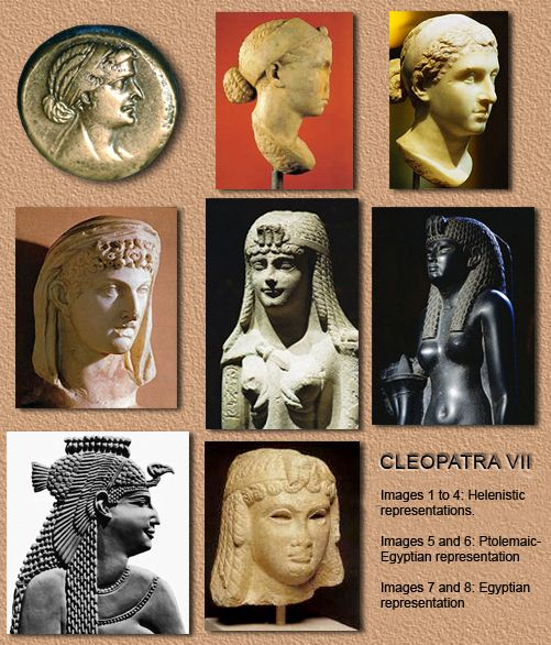How did cleopatra look
