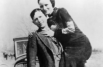 Bonnie and clyde crimes