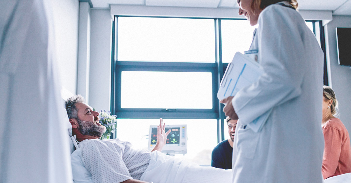 How to put yourself in hospital without hurting yourself