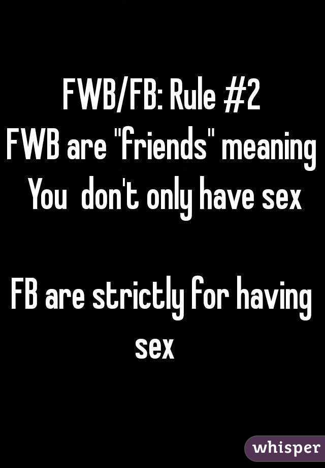 Fwb meaning in text