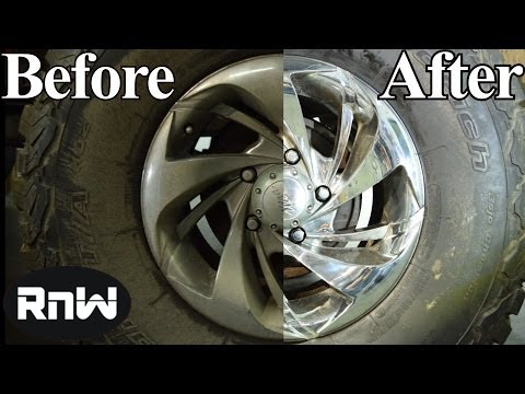 What to clean chrome with