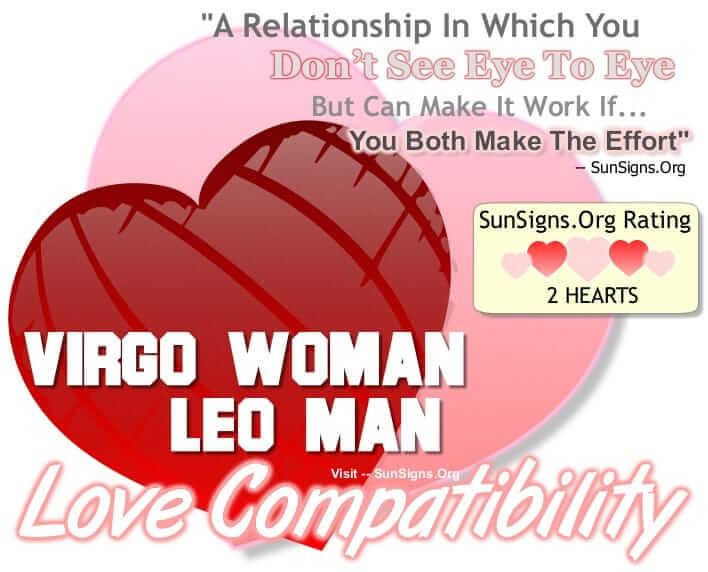 Leo man in bed with virgo woman