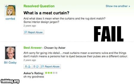 What is a meat curtain