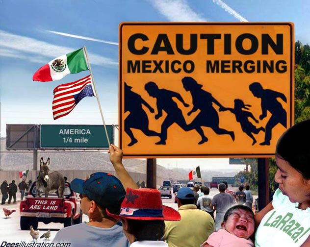 Why do they call mexicans wetbacks