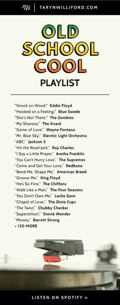 60s and 70s music list