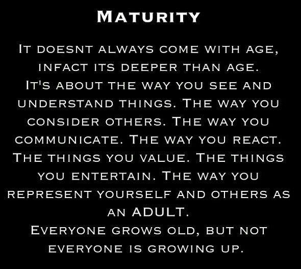 What age do guys usually mature emotionally