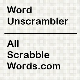 5 letter word scramble