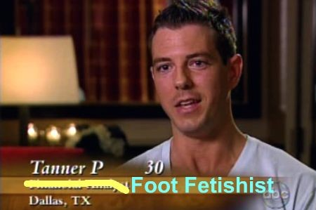 Men with foot fetishes
