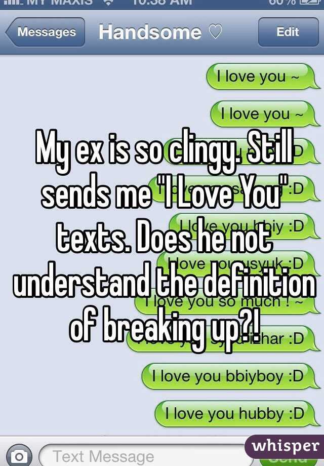 What does it mean to be clingy