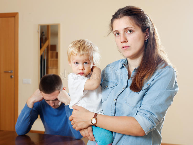 Fighting with husband after baby