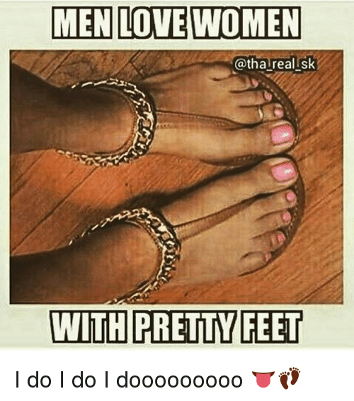 I love womens feet