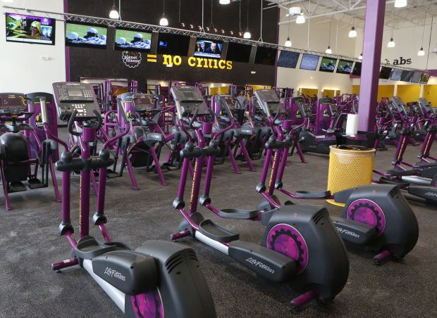 Machines at planet fitness