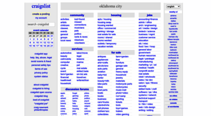 Craigslist personals oklahoma city