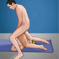 What is the piledriver sex position