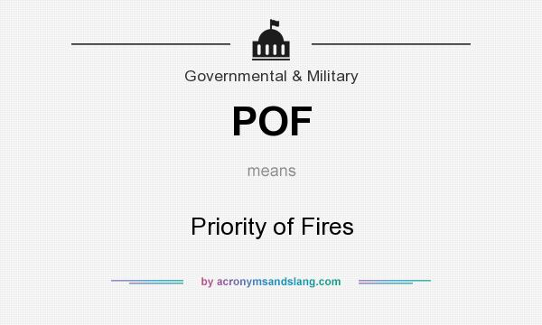 What does pof stand for