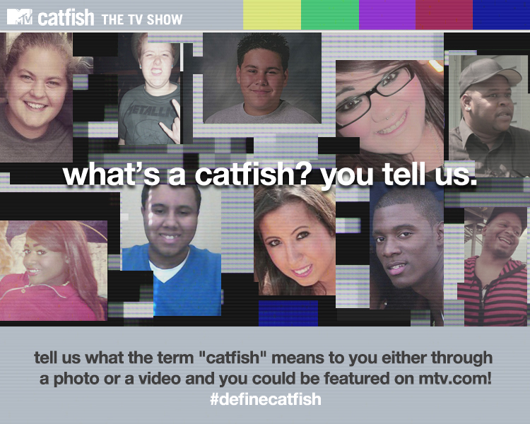 What does the term catfish mean.