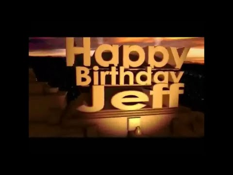 Happy birthday jeff images