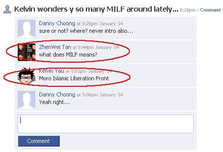 What does milf stands for