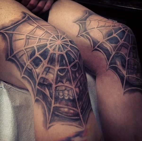 Meaning of spider web tattoo