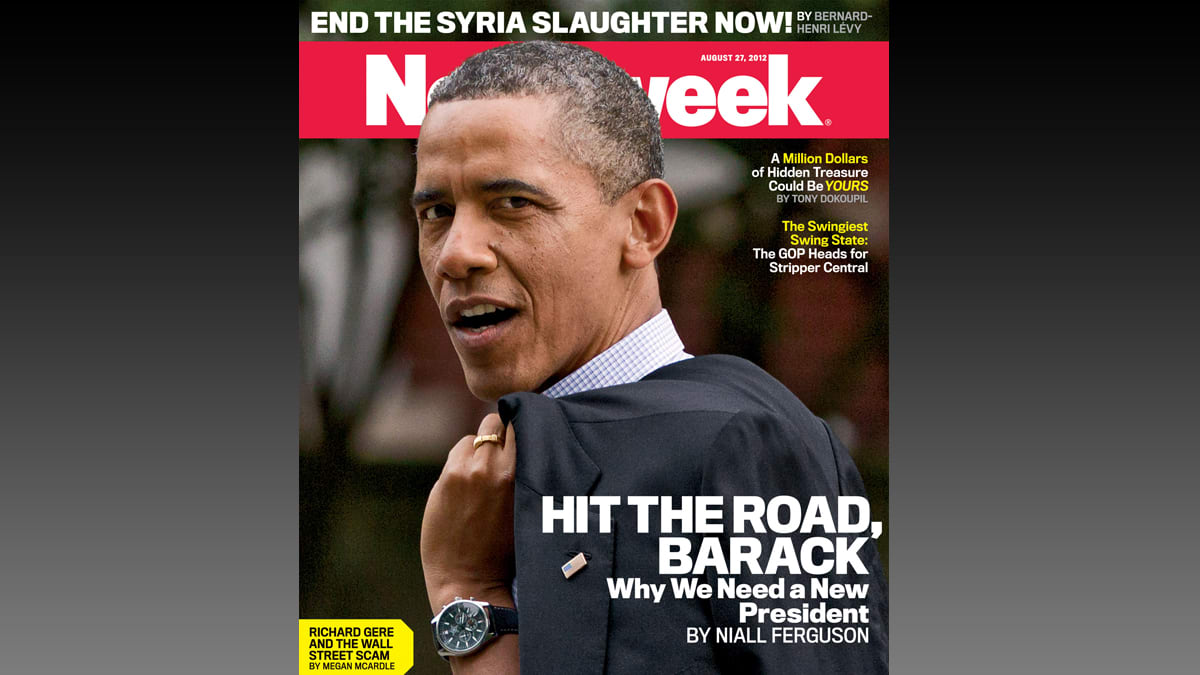 Newsweek final issue snopes