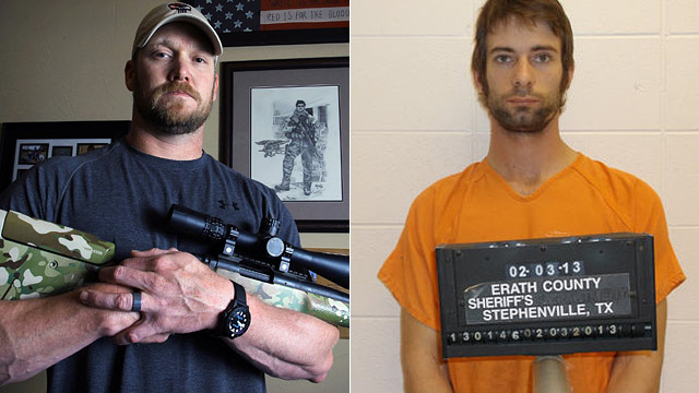 Why was chris kyle murdered
