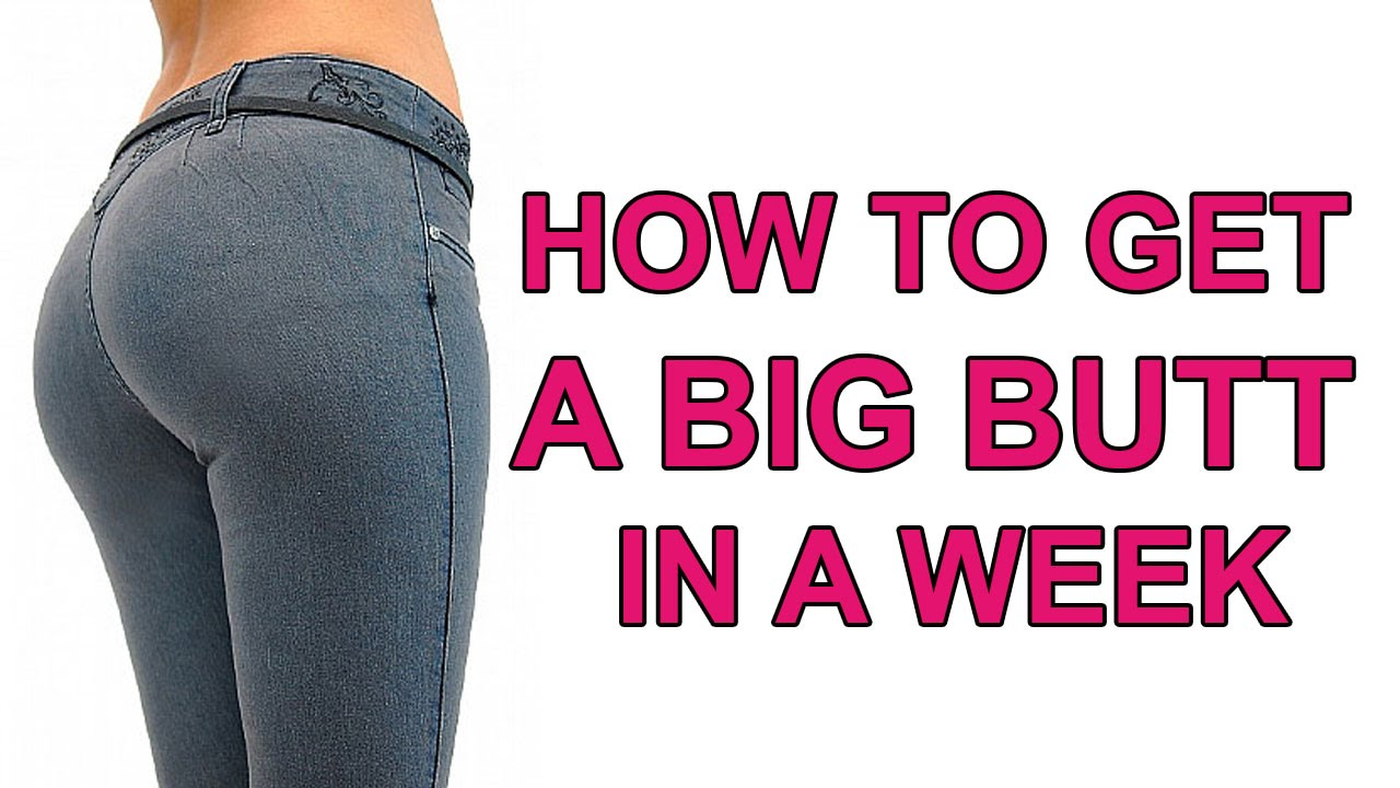 How to get a jiggly bum