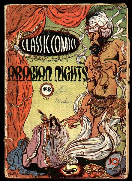 One thousand and one nights characters