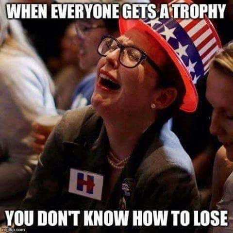 Liberals are sore losers