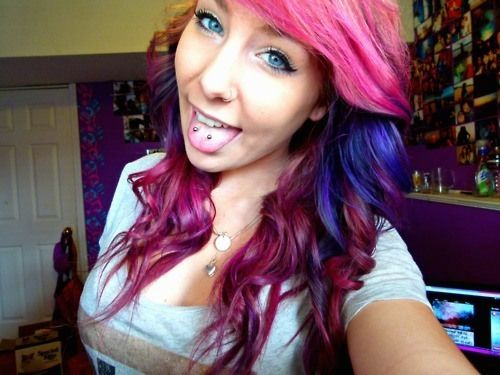 Why do girls get tongue piercings