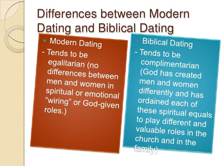 Whats the difference between dating and courting