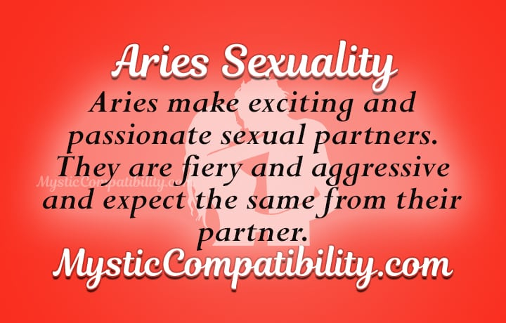 Sex with an aries man