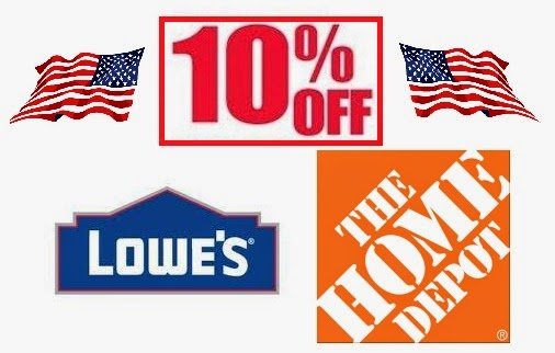 Does home depot give a military discount
