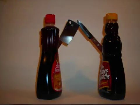 Mrs butterworth vs aunt jemima