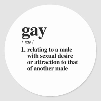 The definition of gay