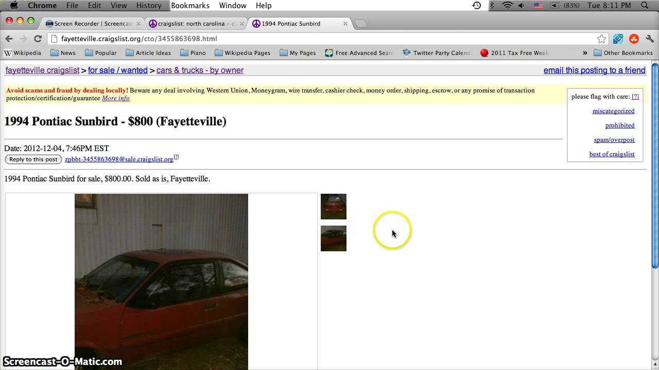 Craigslist of fayetteville north carolina