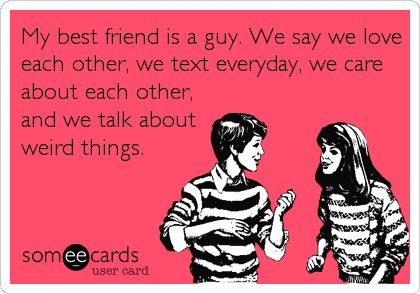 What to talk about with a guy friend