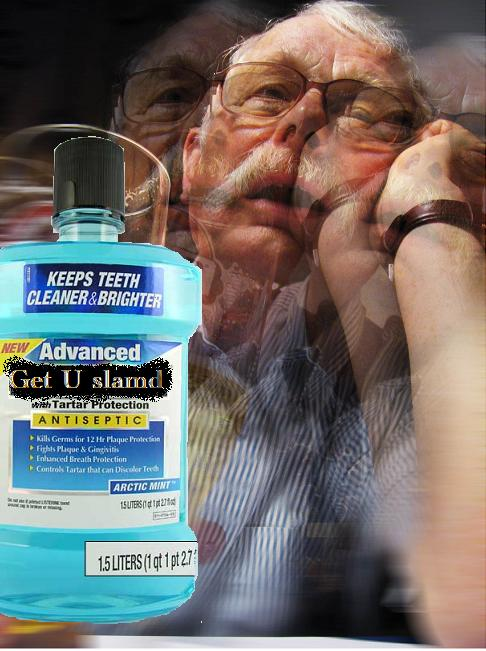 How to get drunk with mouthwash