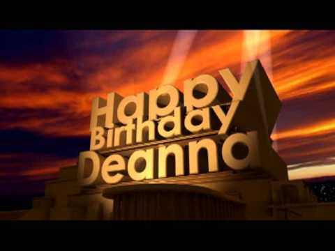 Happy birthday deanna images