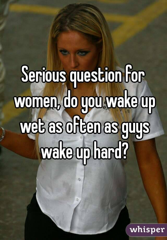 Why do men wake up hard