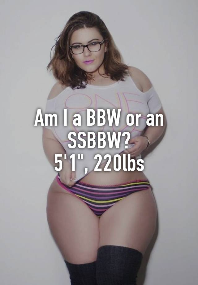 What is a ssbbw