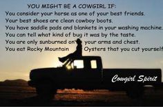 What is a cowgirl