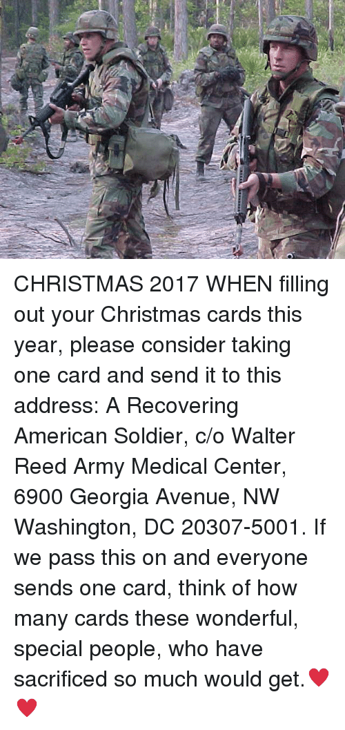 A recovering american soldier walter reed