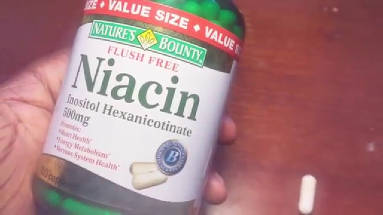 Does niacin clean your system of thc