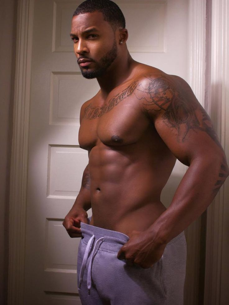 Beautiful naked black men