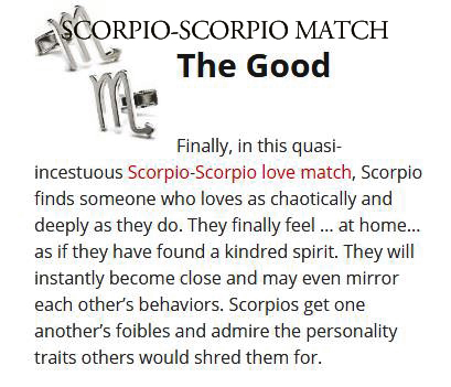 Are two scorpios compatible