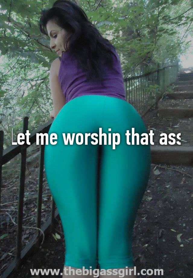 What is ass worship