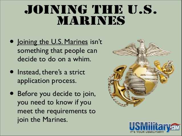 Can i join the marines with a ged